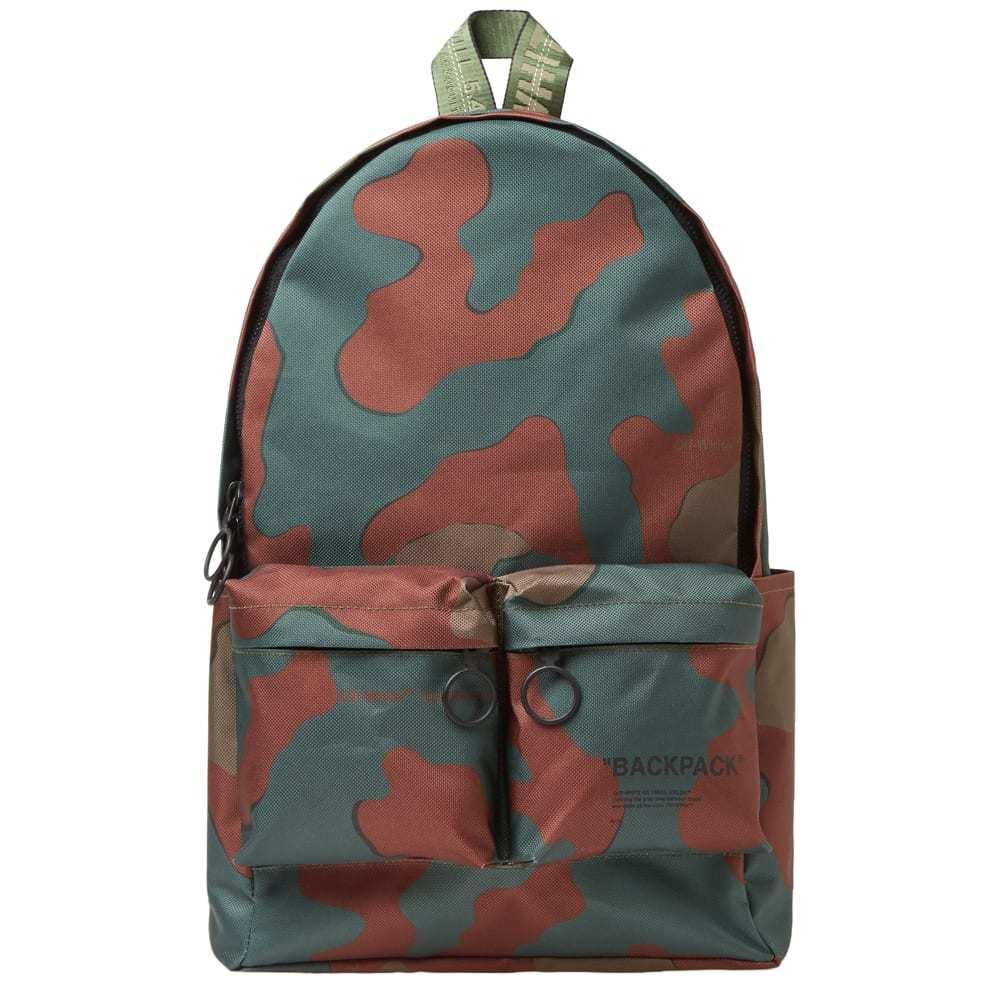Photo: Off-White Camo Nylon Backpack