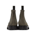 Common Projects Khaki Winter Chelsea Boots