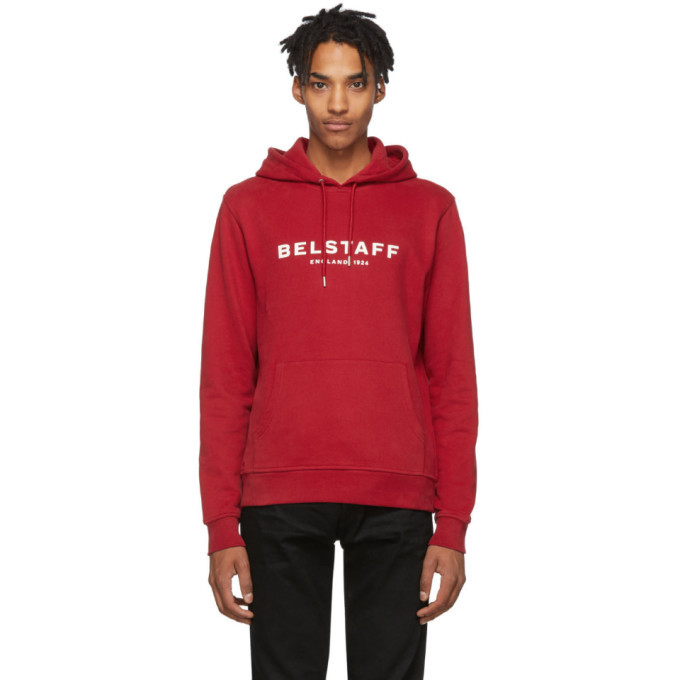 Photo: Belstaff Red 1924 Hoodie