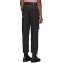 Ksubi Black Downtown Cargo Pants