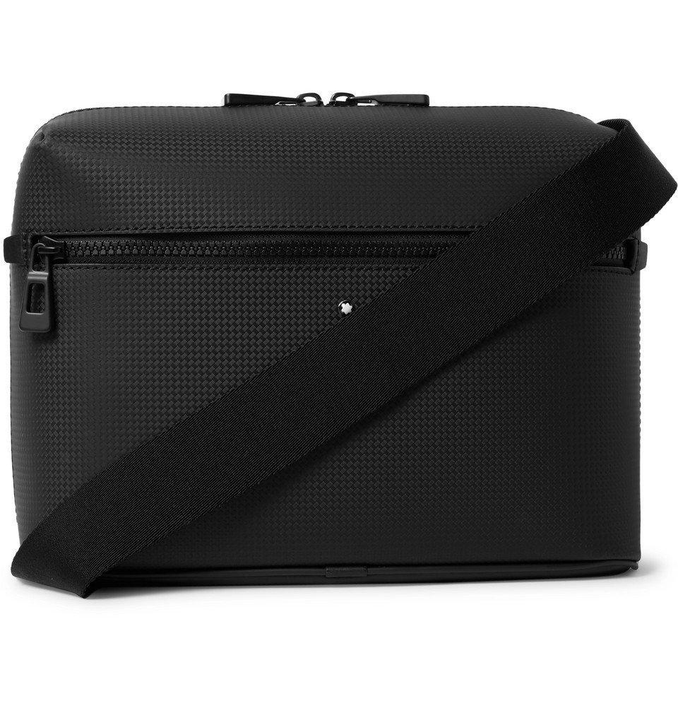 Photo: Montblanc - Extreme 2.0 Textured-Leather Messenger Bag - Black