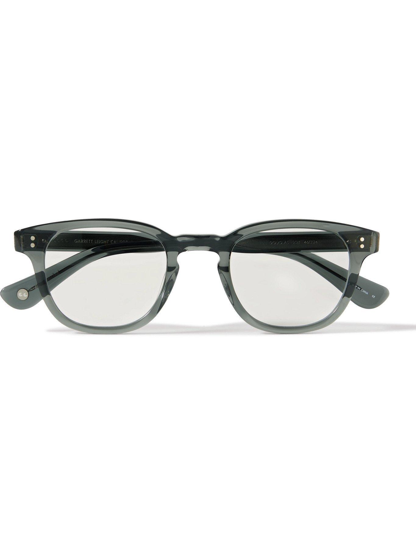 Photo: GARRETT LEIGHT CALIFORNIA OPTICAL - Douglas Square-Frame Acetate Optical Glasses