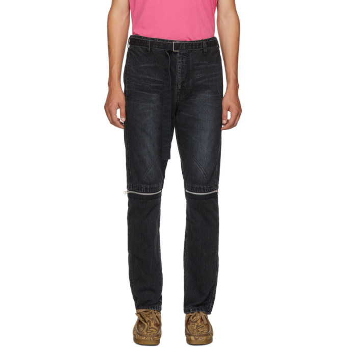 Photo: Sacai Black Belted Jeans
