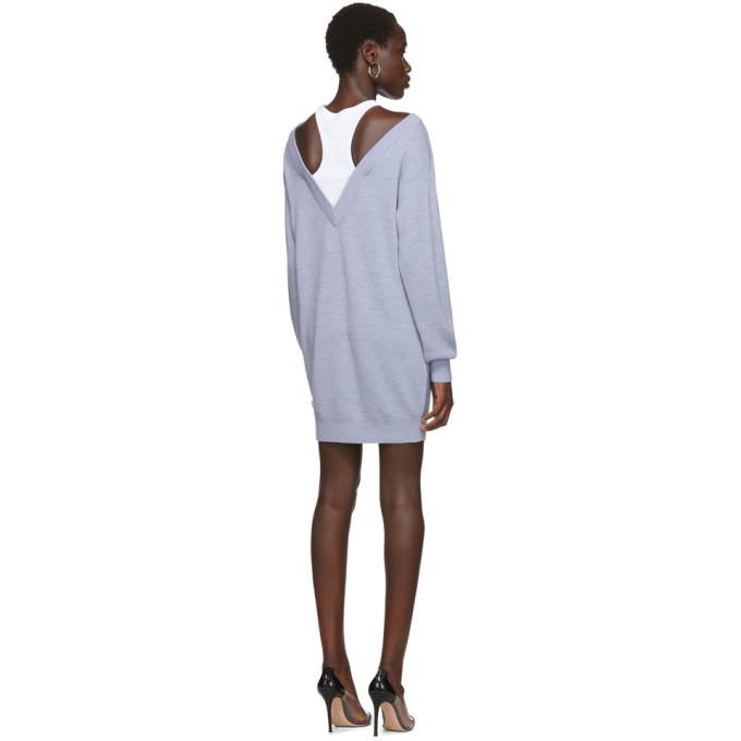 alexanderwang.t Blue Bi-Layer Dress