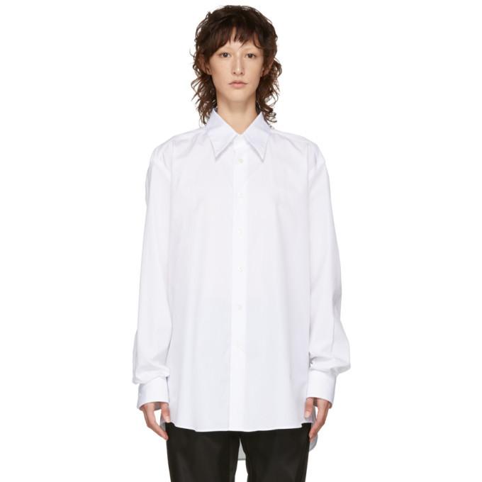 Photo: Raf Simons White Back Pleats Shirt