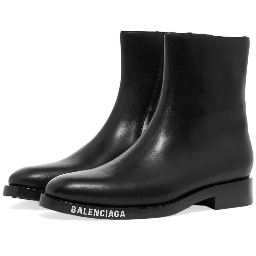 Photo: Balenciaga Balenciaga Logo Chelsea Boot