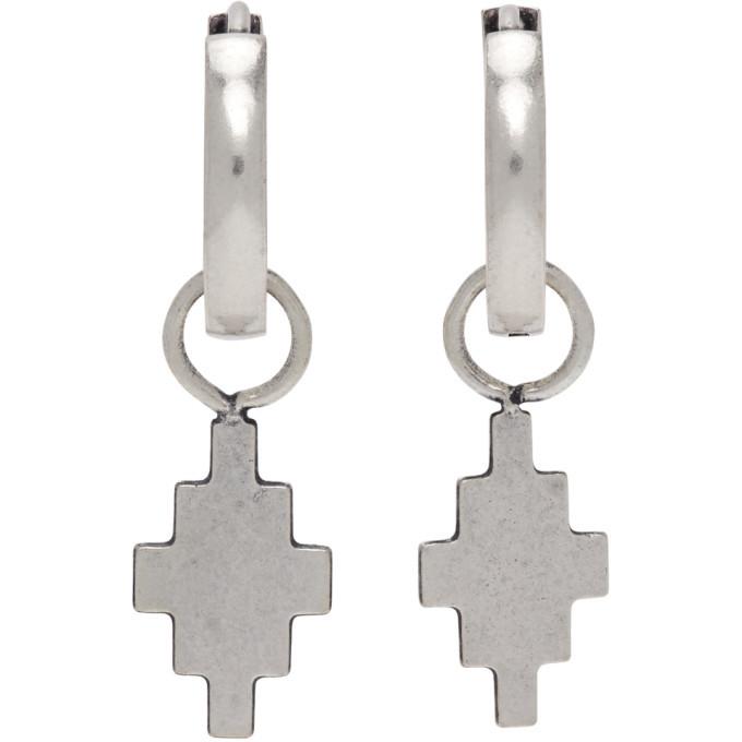 Photo: Marcelo Burlon County of Milan Silver Cross Pendant Earrings
