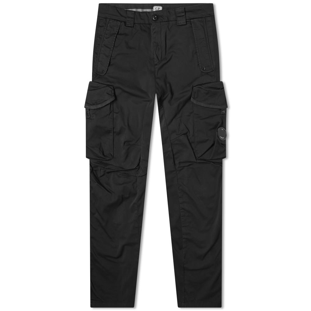Photo: C.P. Company Zip Detail Garment Dyed Flight Pant