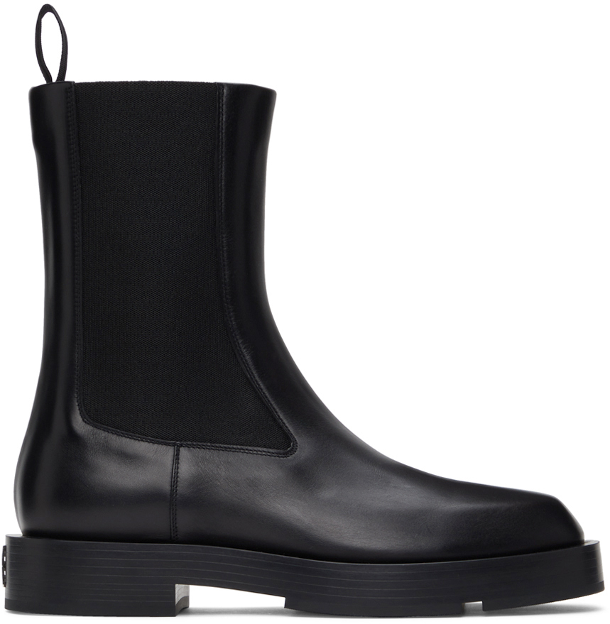 Photo: Givenchy Black Show Chelsea Boots