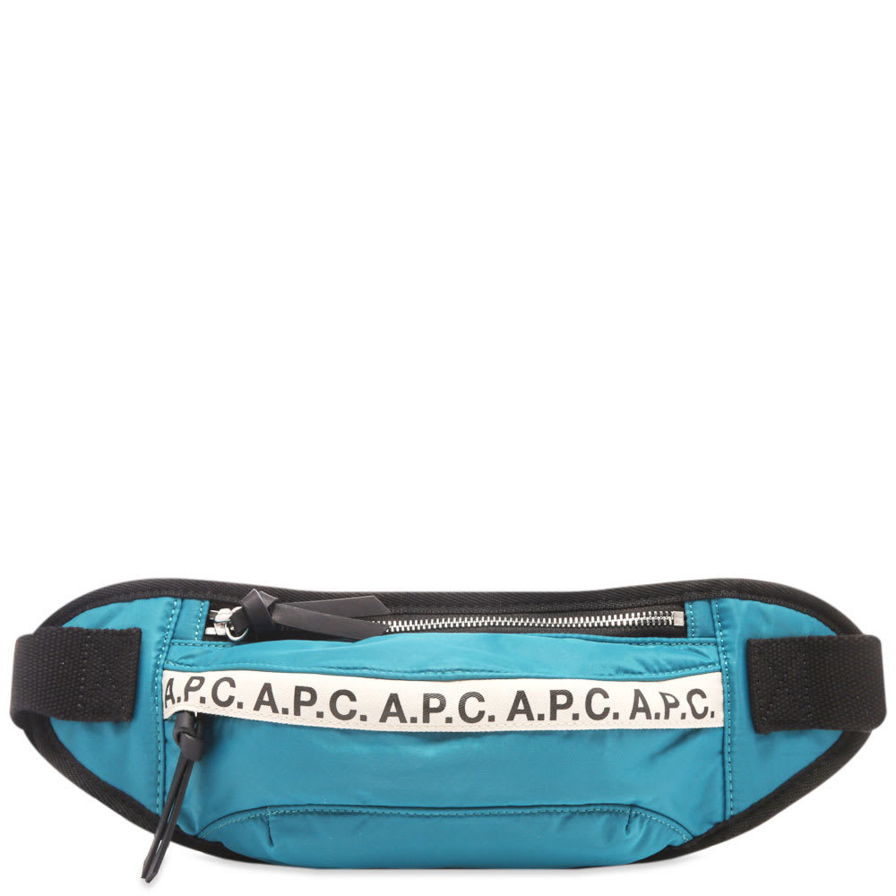 Photo: A.P.C. Tape Logo Waist Bag
