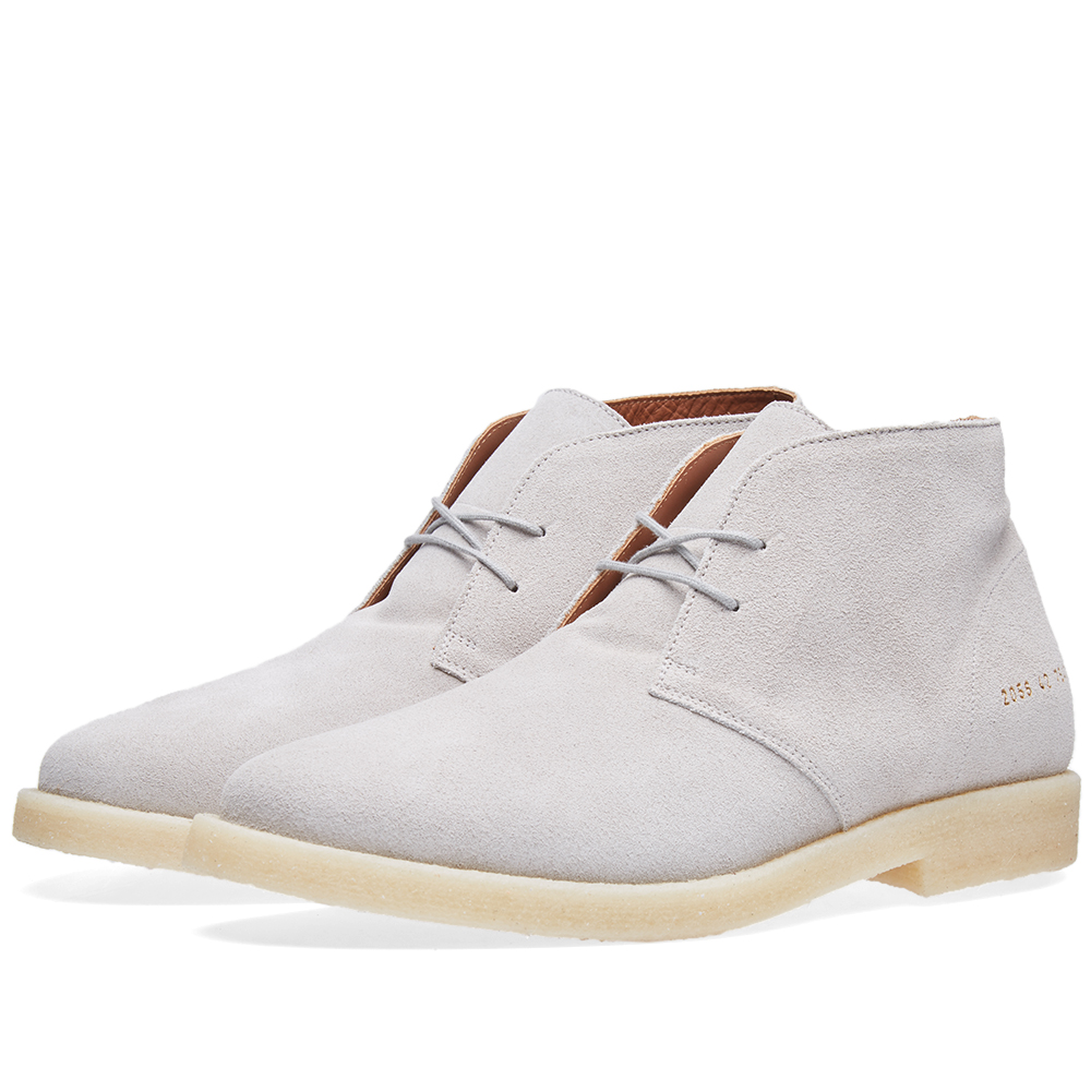 Common Projects Crepe Sole Chukka Suede