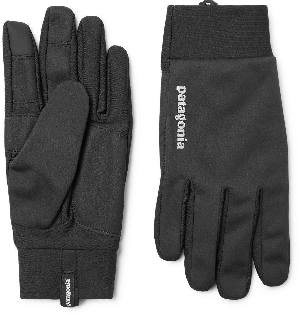 Photo: Patagonia - Wind Shield Gloves - Men - Black