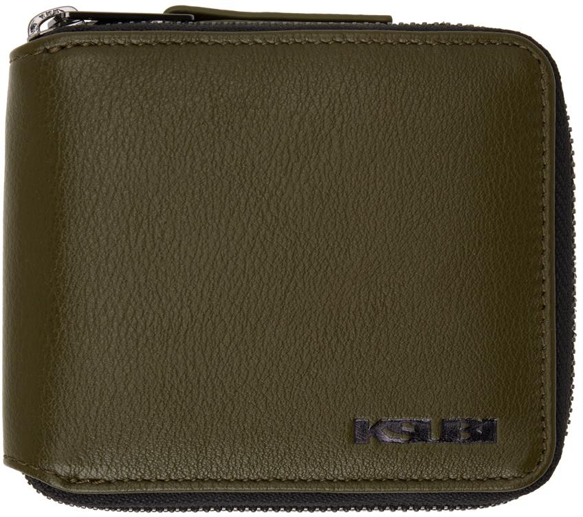 Photo: Ksubi Green Kash Zip Wallet