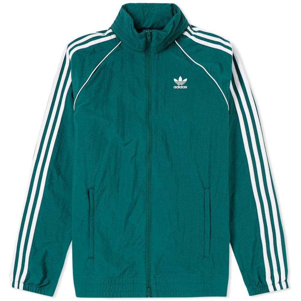 Adidas Superstar Windbreaker Green