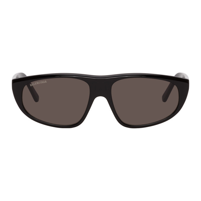Photo: Balenciaga Black Cat-Eye Sunglasses