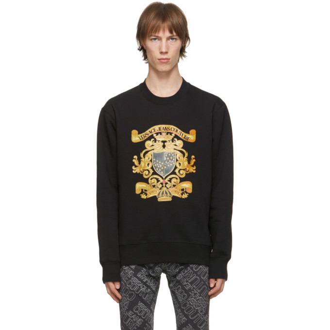 Photo: Versace Jeans Couture Black Shields Sweatshirt