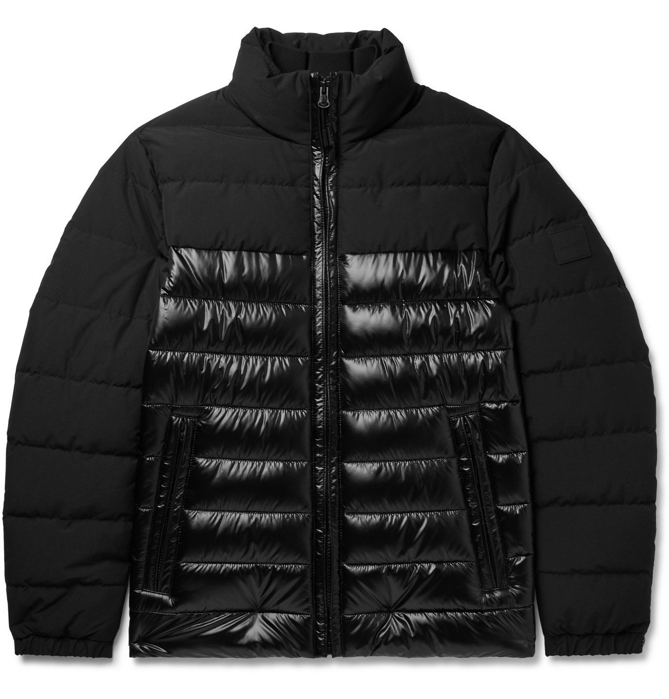 HUGO BOSS - Quilted Padded Shell Jacket - Black