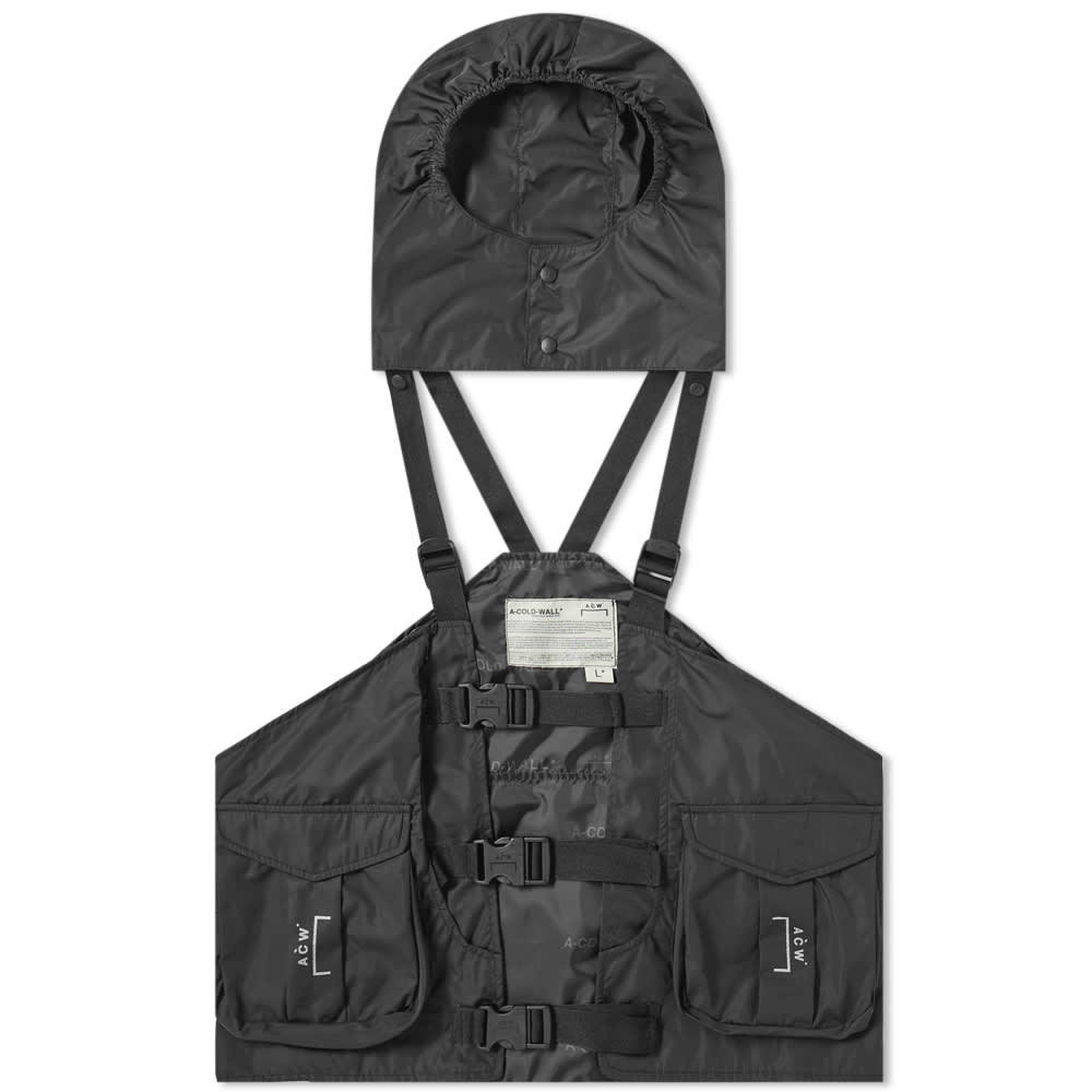 Photo: A-COLD-WALL* Technical Hooded Gilet