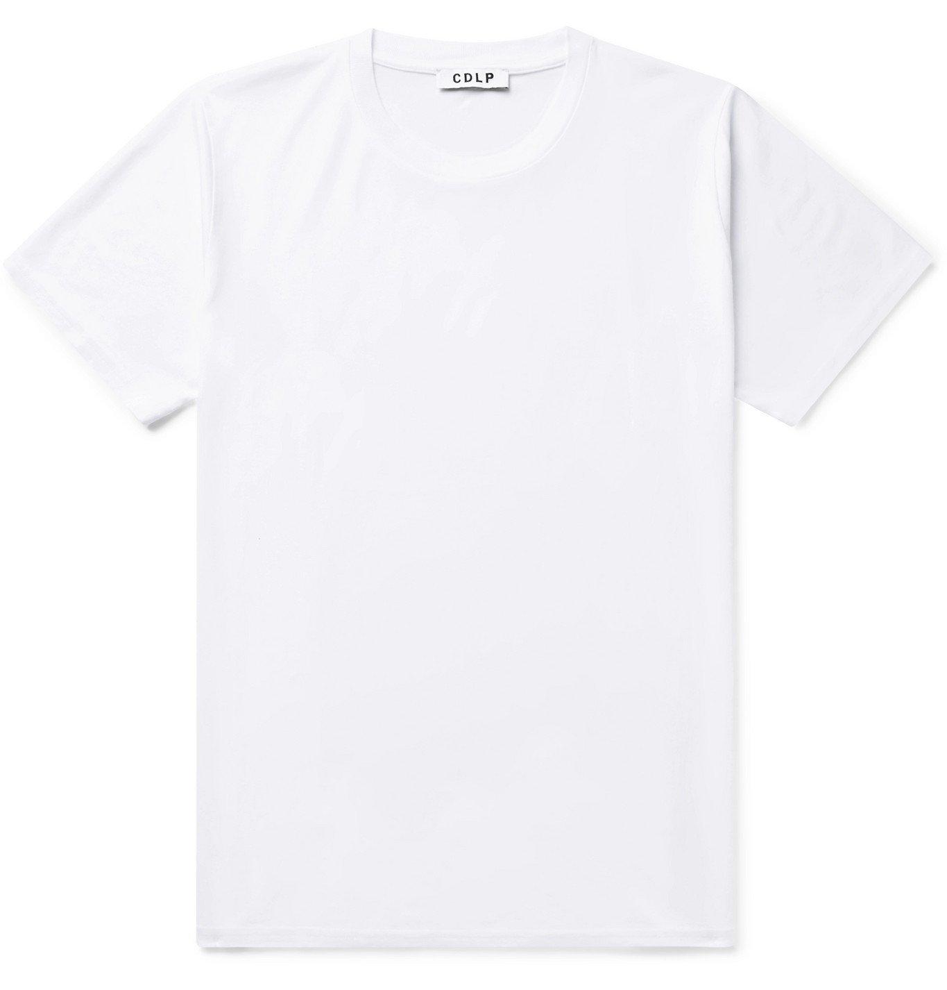 Photo: CDLP - Lyocell and Pima Cotton-Blend T-Shirt - White