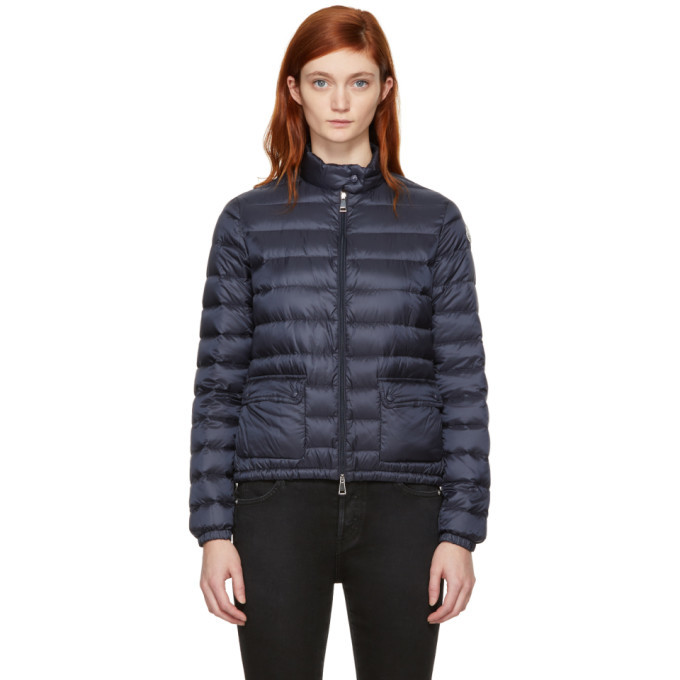 Photo: Moncler Navy Down Lans Jacket