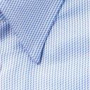 GIORGIO ARMANI - Slim-Fit Striped Cotton-Jacquard Shirt - Blue