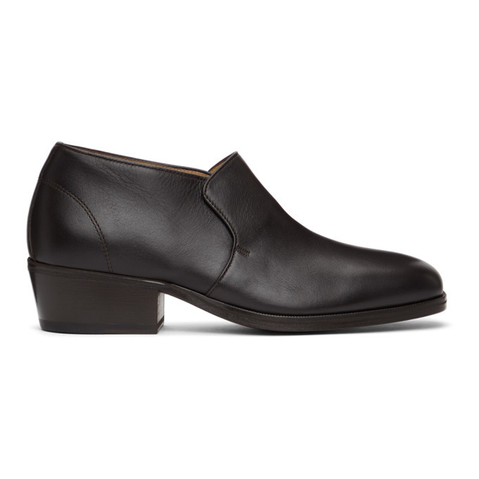Photo: Lemaire Brown Low Loafers