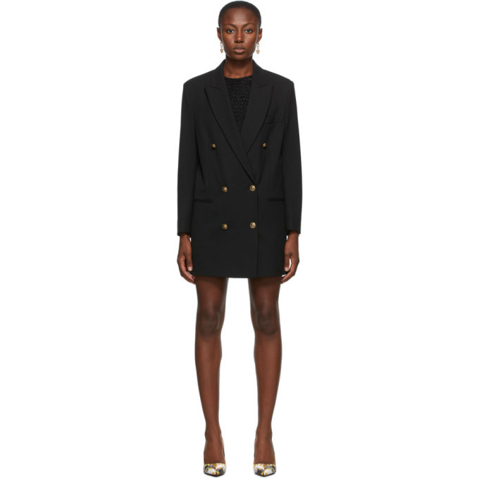 Photo: Versace Jeans Couture Black Blazer Dress