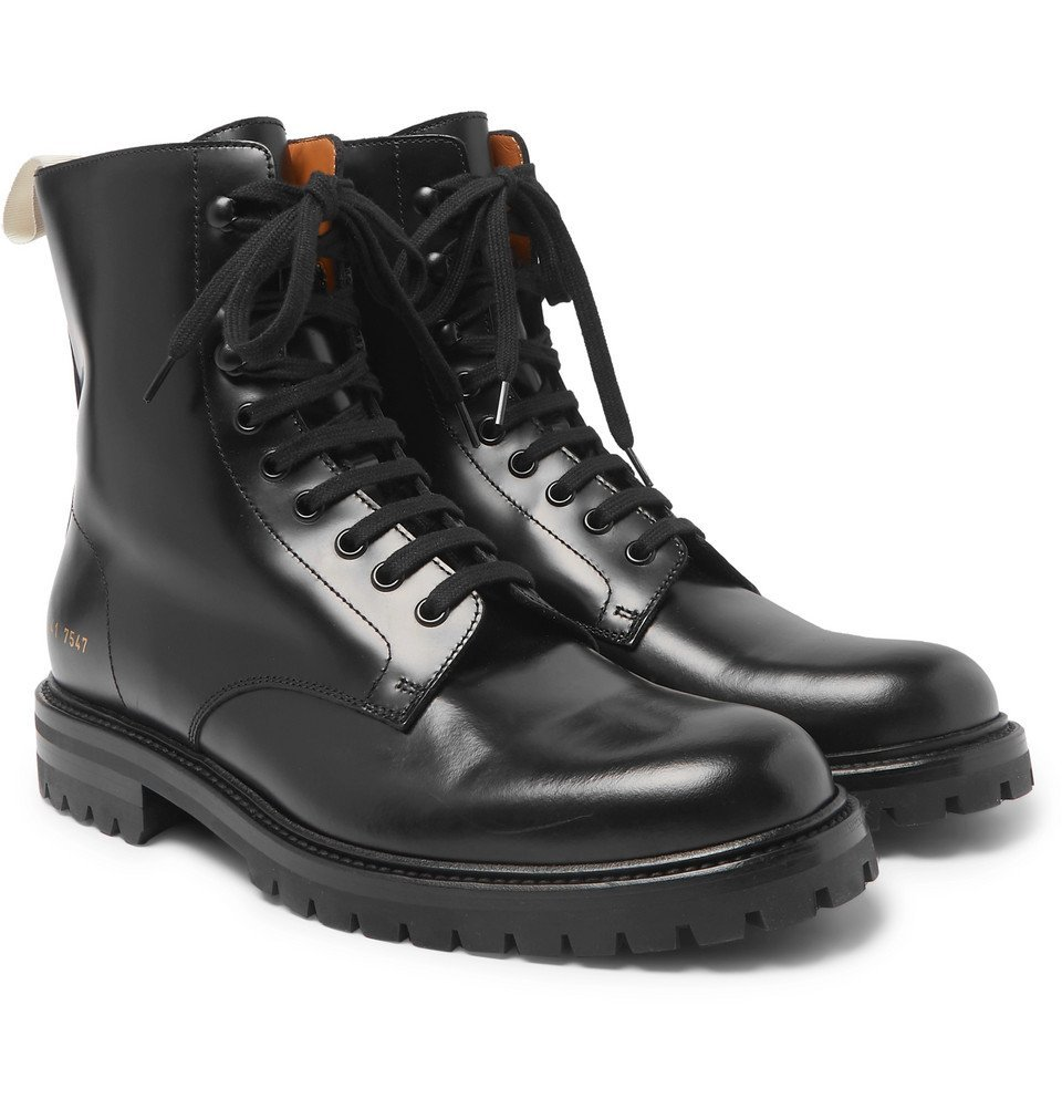 Photo: Common Projects - Leather Boots - Black