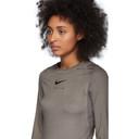 1017 ALYX 9SM Taupe Nike Edition Dye Long Sleeve T-Shirt