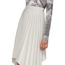 Acne Studios Grey Ilsie Stripe Suiting Skirt
