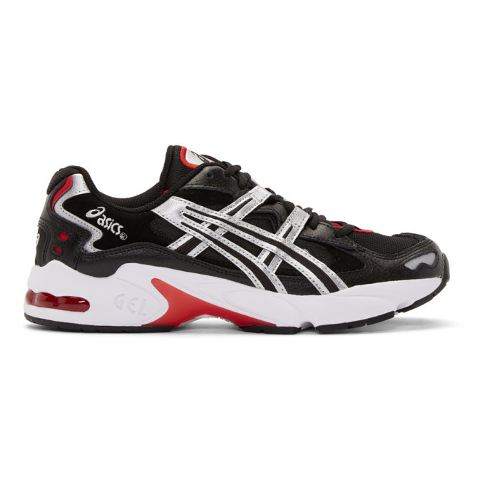 Photo: Asics Black and Silver Gel-Kayano 5 OG Sneakers