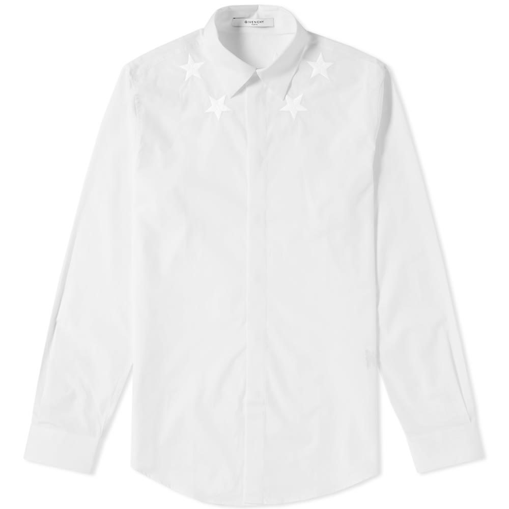 Photo: Givenchy Chest Embroidered Shirt