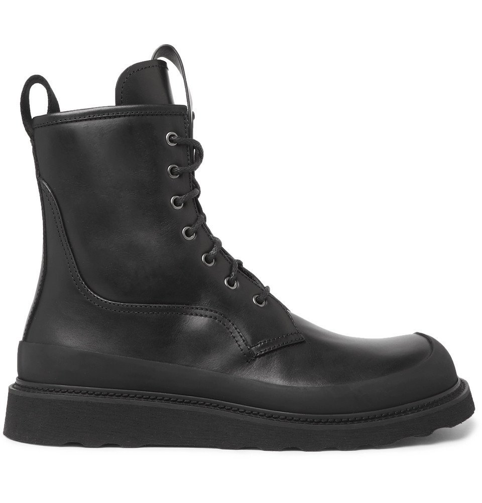 Bottega Veneta - Leather Boots - Black