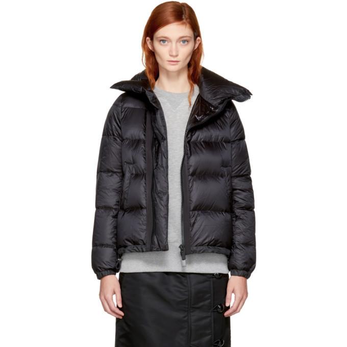 Sacai Black Down Nylon Jacket