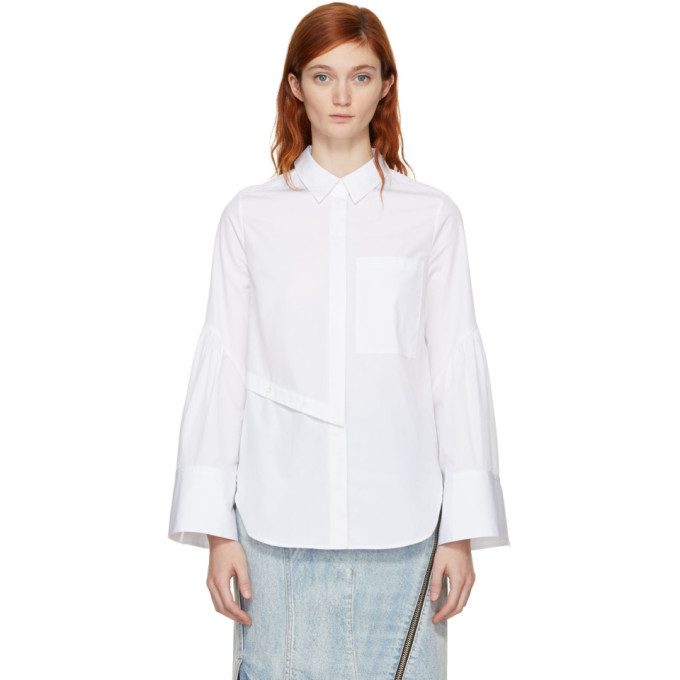 3.1 Phillip Lim White Poplin Shirt