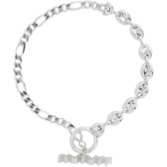 Photo: WWW.WILLSHOTT Silver Fused Chain Bracelet