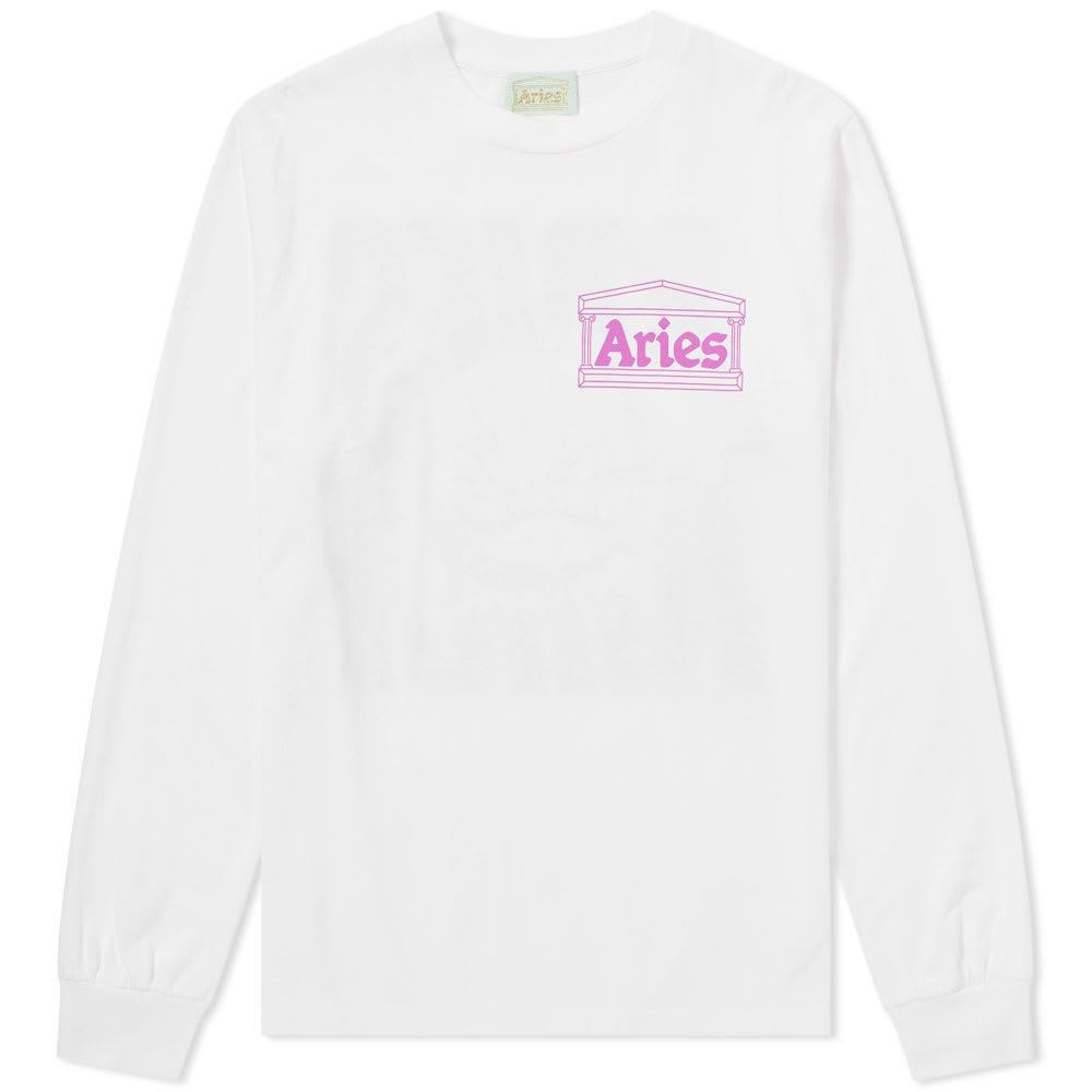Aries Long Sleeve Taz Tee