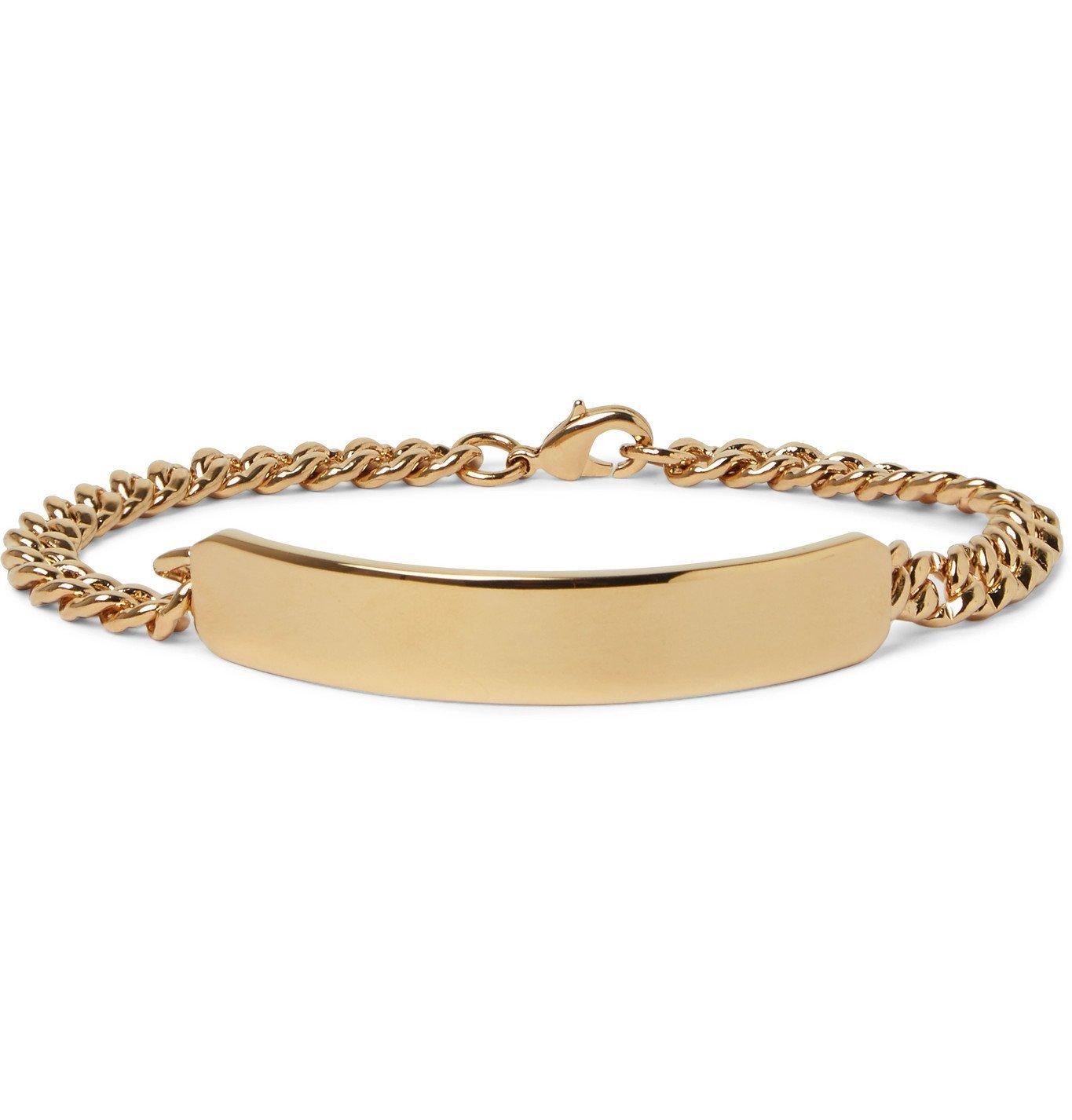Photo: A.P.C. - Darwin Gold-Tone Bracelet - Gold