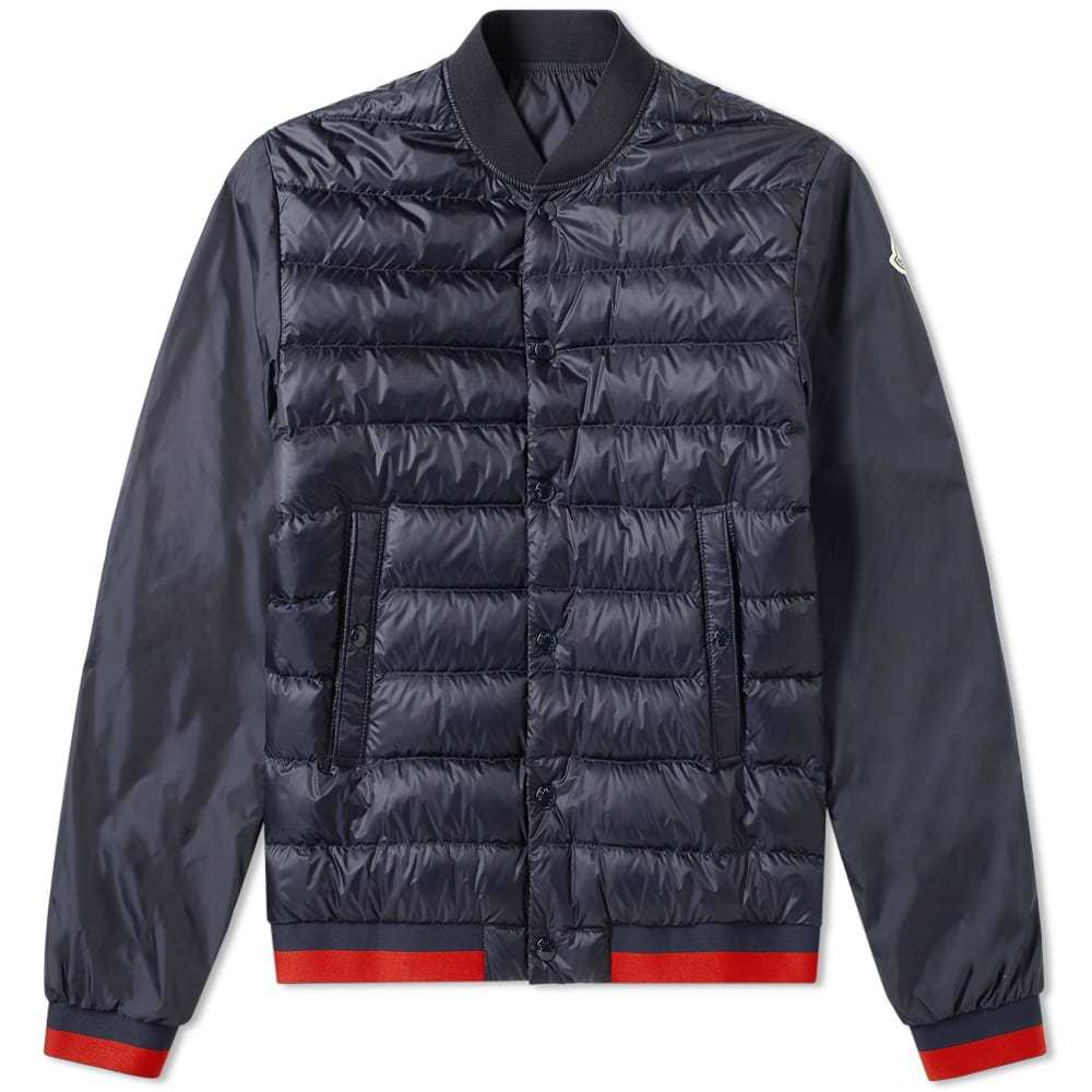 Photo: Moncler Attoub Down Filled Varisty Jacket
