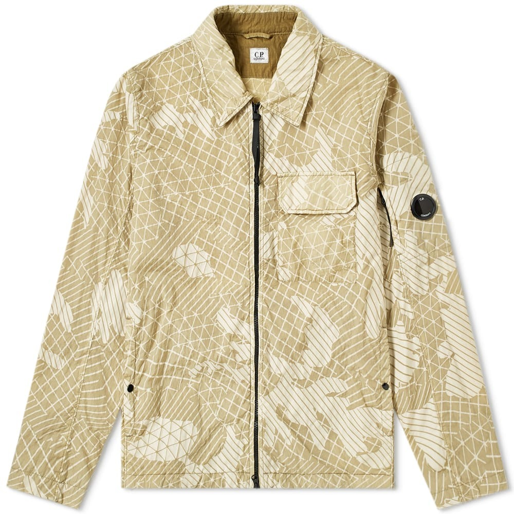 Photo: C.P. Company Camo Net Arm Lens Shirt Jacket