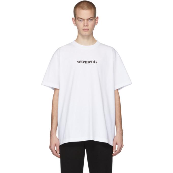 Photo: VETEMENTS White Postage T-Shirt