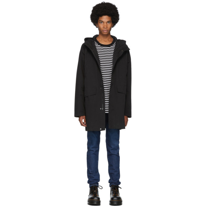 Photo: 49Winters Black One Layer Parka