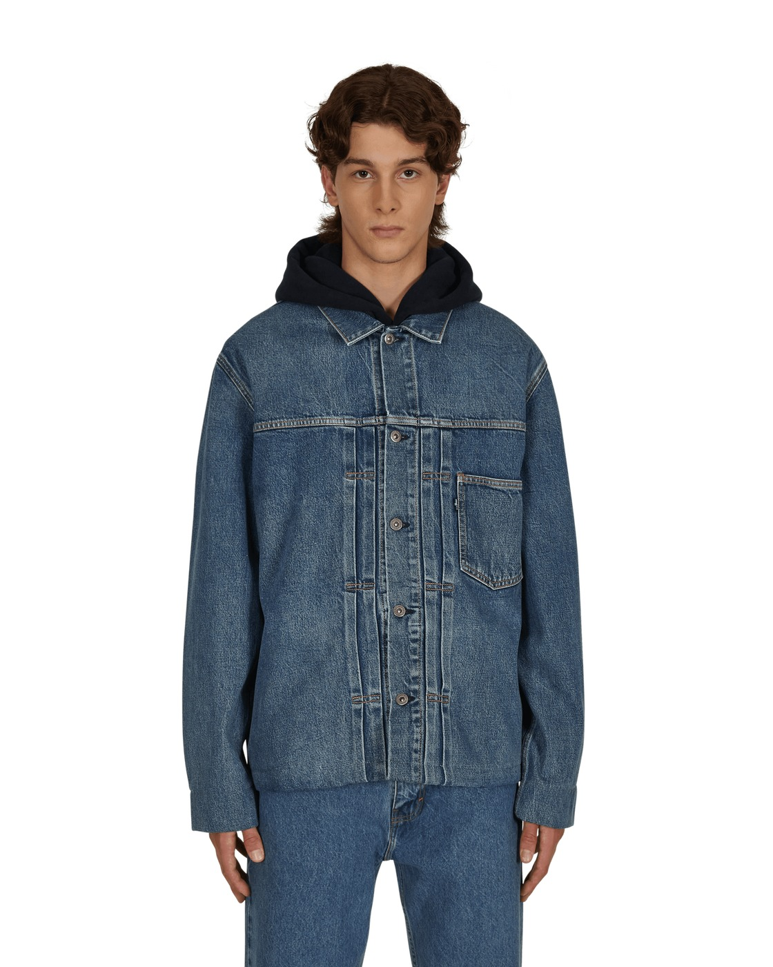 Photo: Levi's Made & Crafted Tailored Trucker Jacket Blue