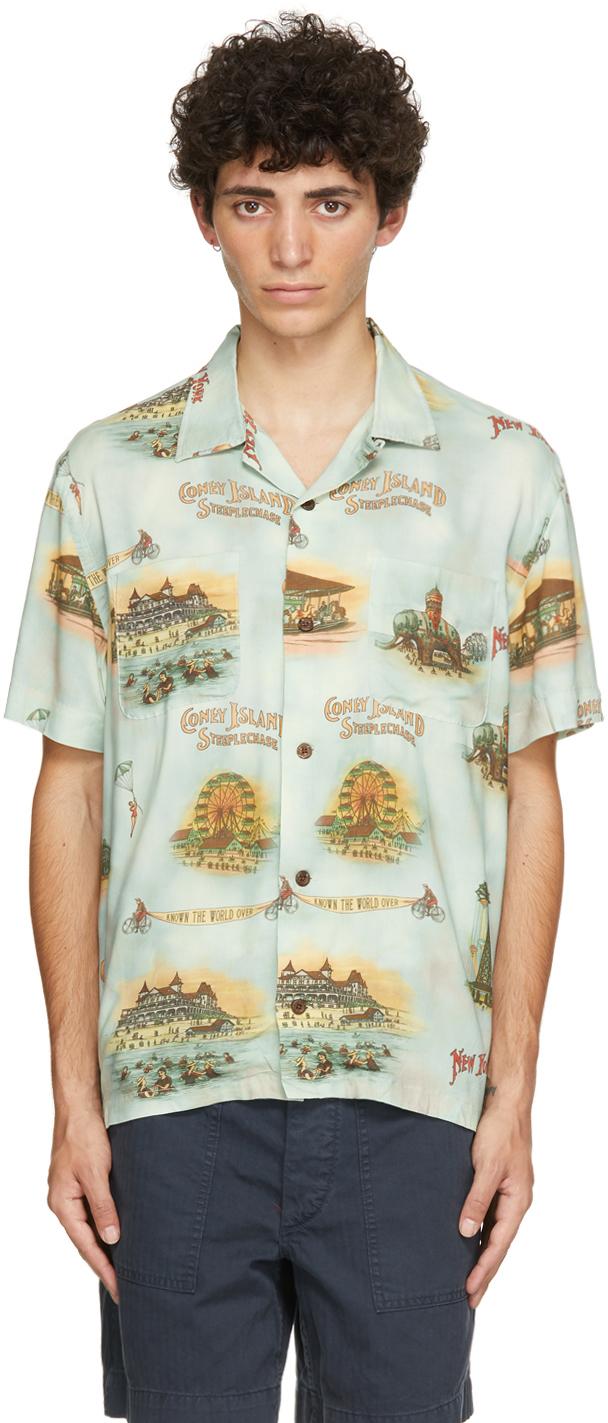 Photo: RRL Blue Camp Short Sleeve Shirt