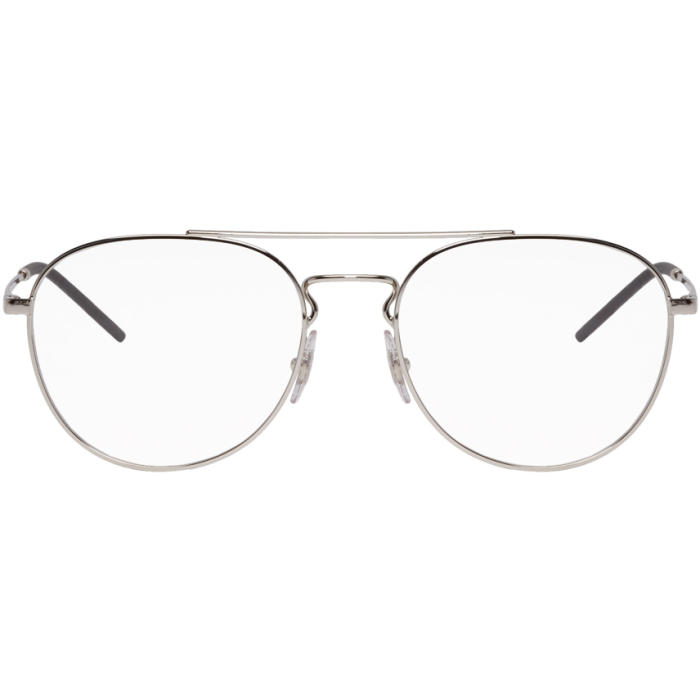 Photo: Ray-Ban Silver Youngster Glasses