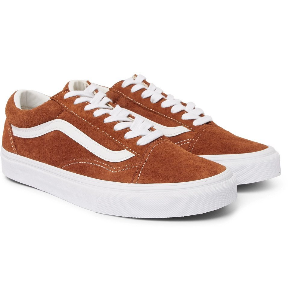 Vans - Old Skool Leather-Trimmed Suede