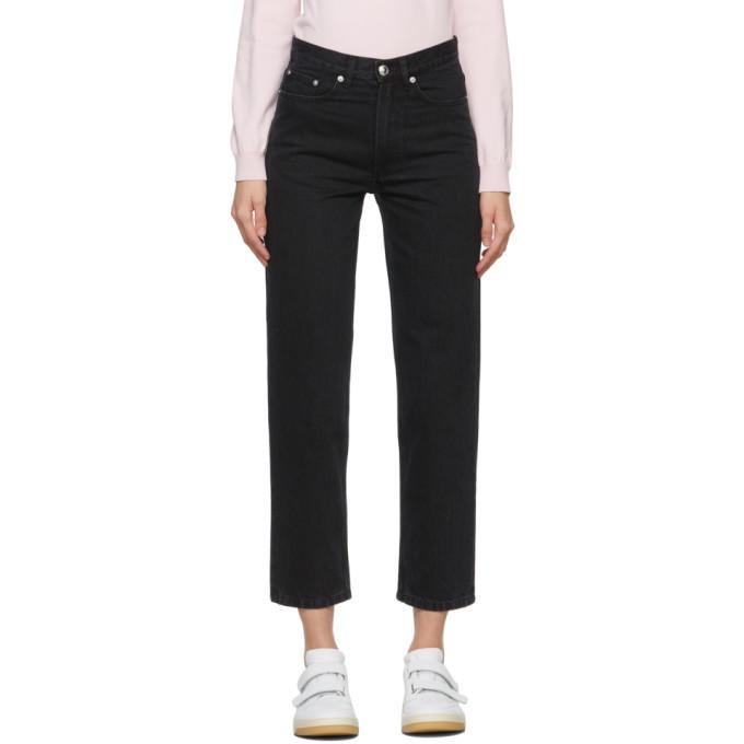 Photo: A.P.C. Black Martin Jeans