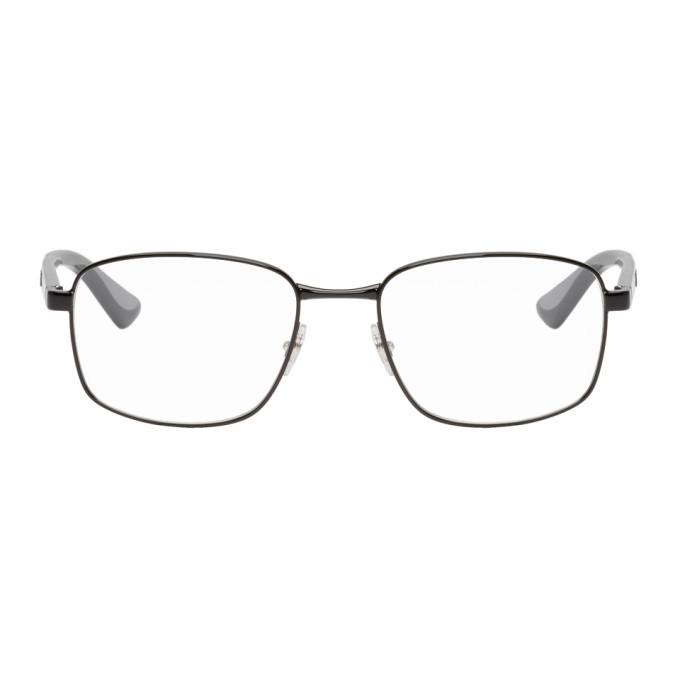 Photo: Ray-Ban Black Square Glasses