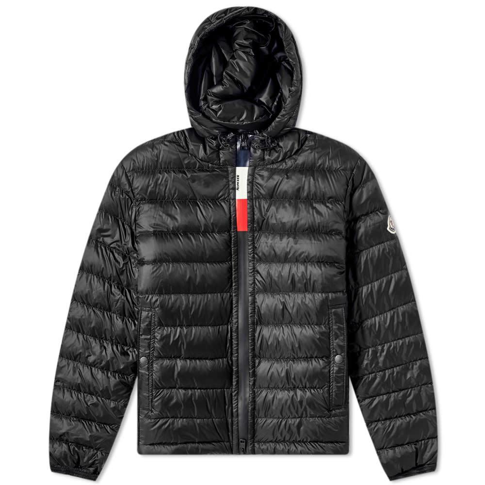 Photo: Moncler Rook Tricolour Heat Patch Down Jacket