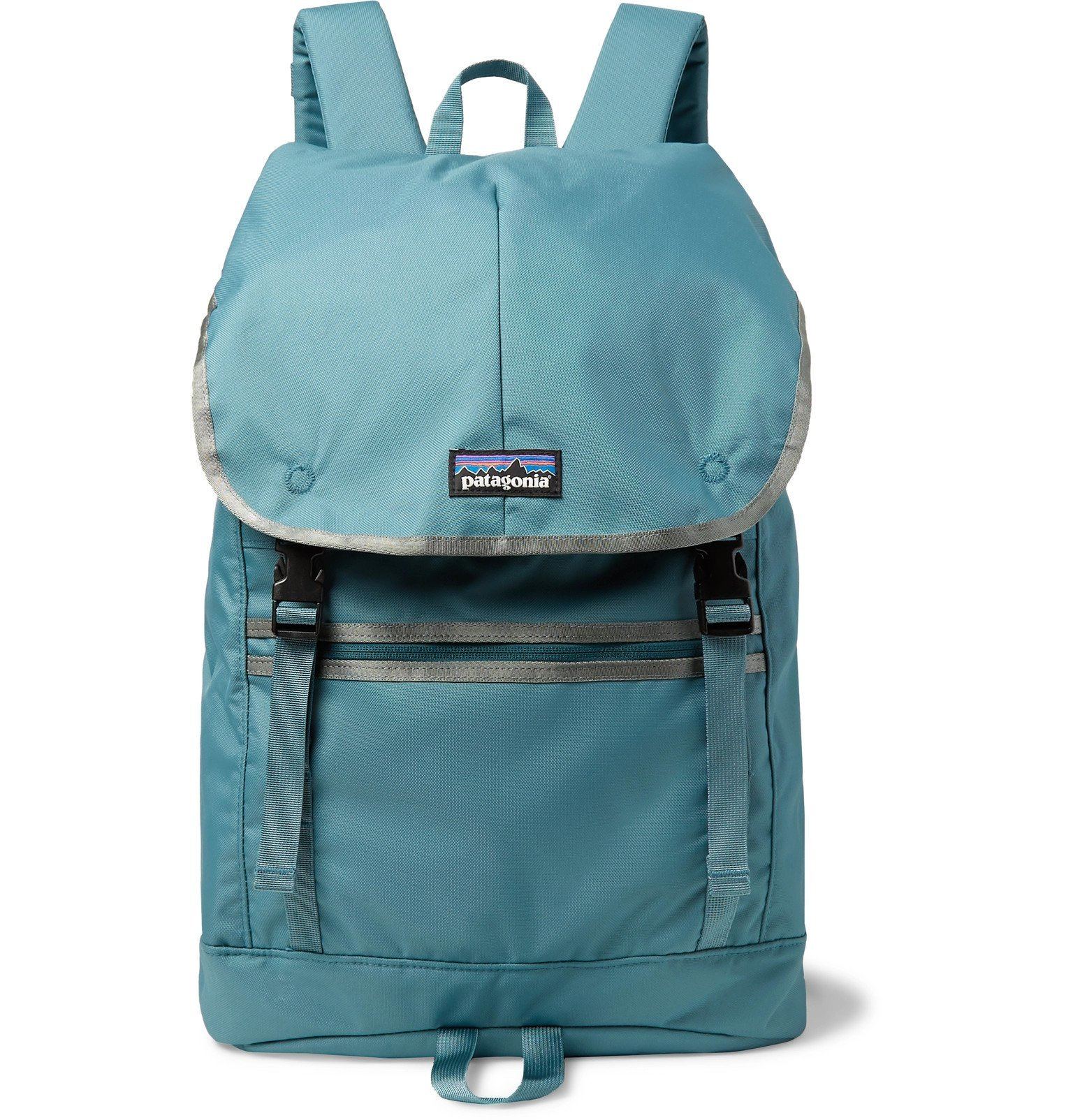Photo: Patagonia - Arbor Classic Canvas Backpack - Blue
